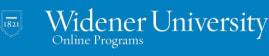 Widener University Online