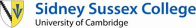 University of Cambridge Sidney Sussex College