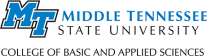 Middle Tennessee State University College of Basic and Applied Sciences (CBAS)