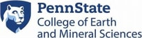 The Pennsylvania State University Penn State College of Earth and Mineral Sciences
