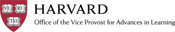 Harvard Office of the Vice Provost for Advances in Learning (VPAL) (Get Smarter Creative)
