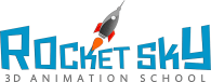 Rocket Sky 3D Animation School  |  ONLINE