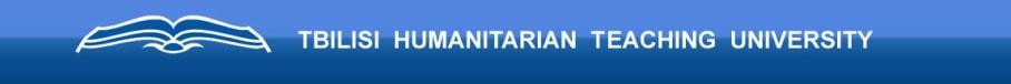 Tbilisi Humanitarian Teaching University ( (THU)
