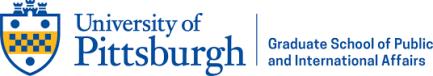 University of Pittsburgh Graduate School of Public and International Affairs