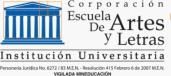 Corporate School of Arts and Letters   (Corporación Escuela de Artes y Letras)