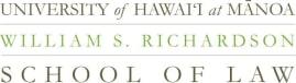 University of Hawai'i at Mānoa, William S. Richardson School of Law