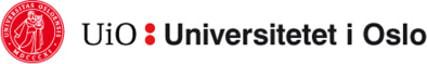 University of Oslo - Faculty of Humanities