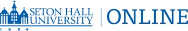 Seton Hall University Online