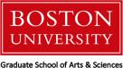 Boston University Graduate School of Arts & Sciences