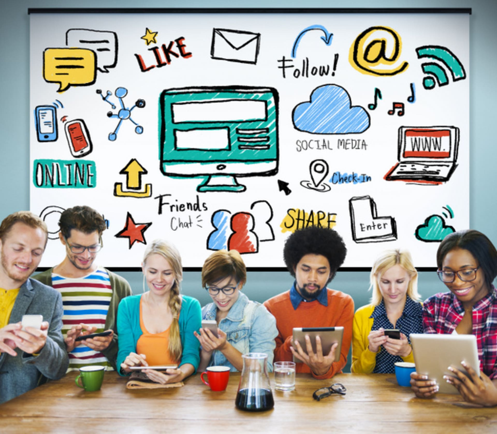 How Smart Business Students Use Social Media
