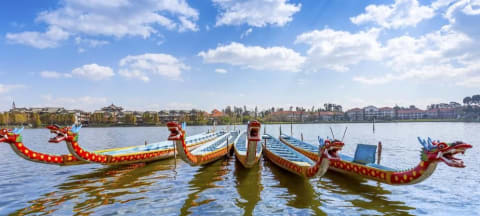 China Hosts First-Ever International Elite University Dragon Boat Championships