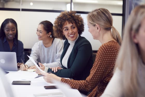 How MBAs Promote Women in Business