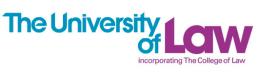 The University of Law Undergraduate Programmes