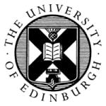 University of Edinburgh University of Edinburgh, School of Divinity