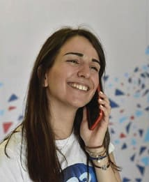 Erasmus alumna