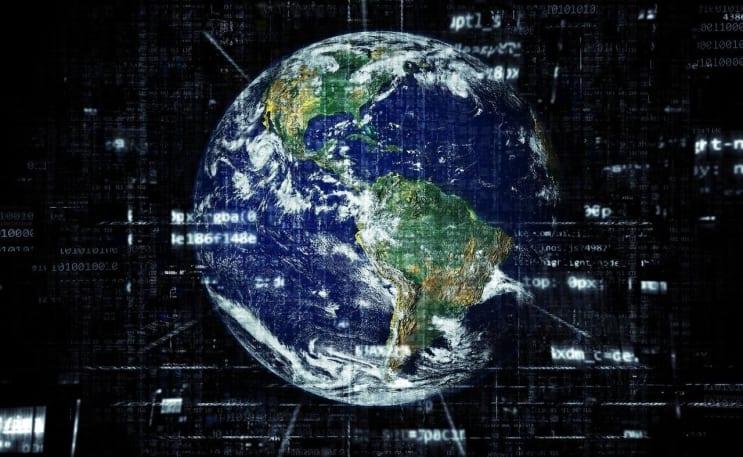 earth, internet, globalisation