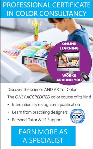 Color Consultant - Accredited Certificate Course (Online)