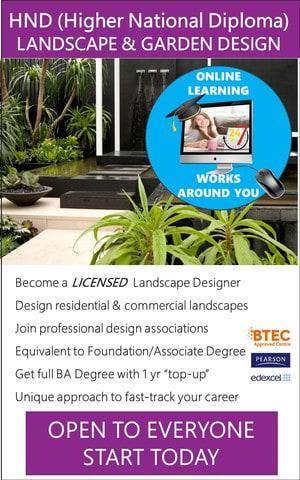 Landscape Design - HND / Associate Degree Course (Online)
