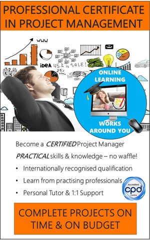 Project Management Certification - Accredited Certificate Course (Online)