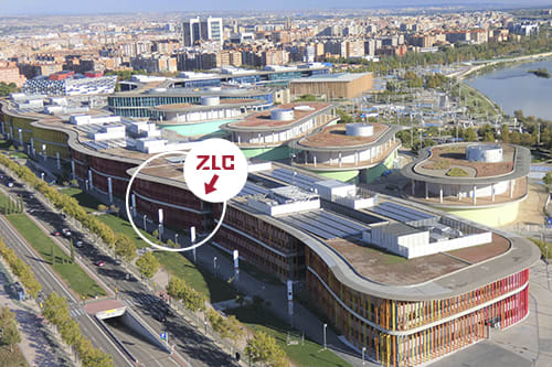 Zaragoza Logistics Center (ZLC) in EXPO, Zaragoza
