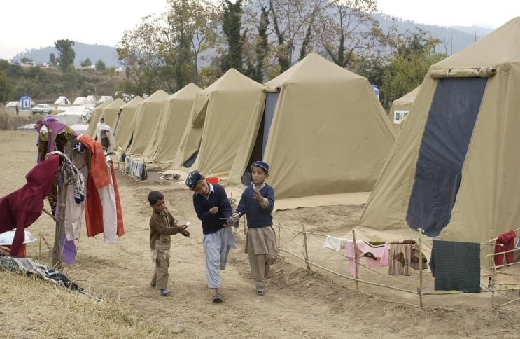 shinkiari, pakistan, camp