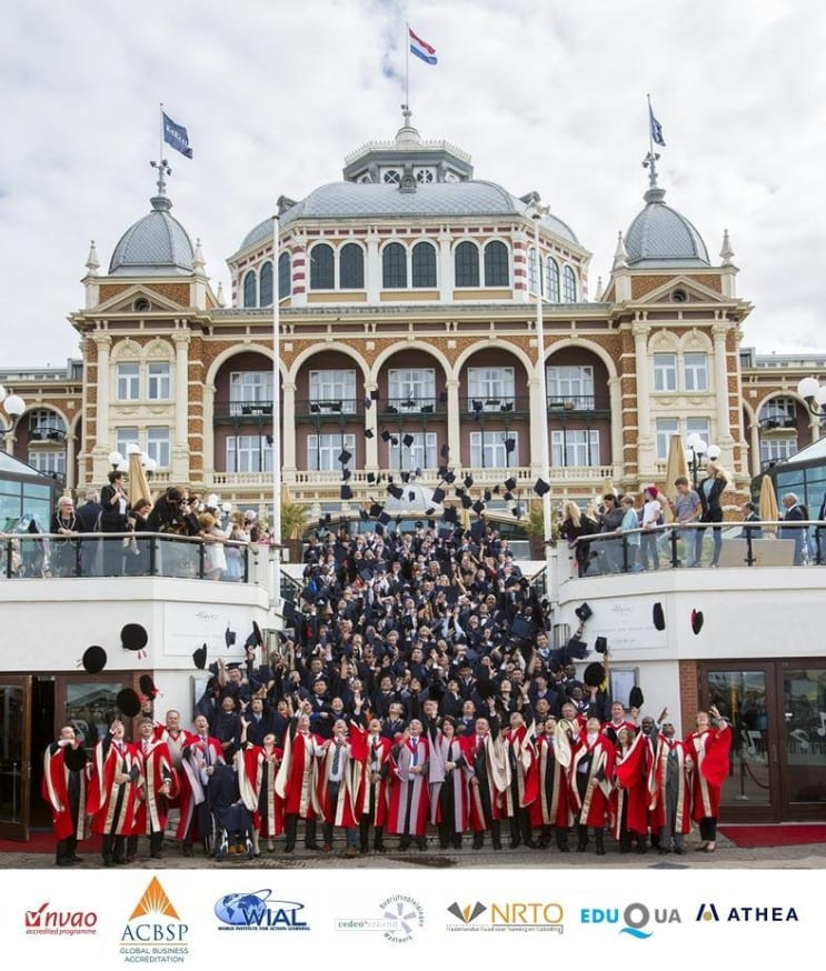 Business School Netherlands MBA Graduation