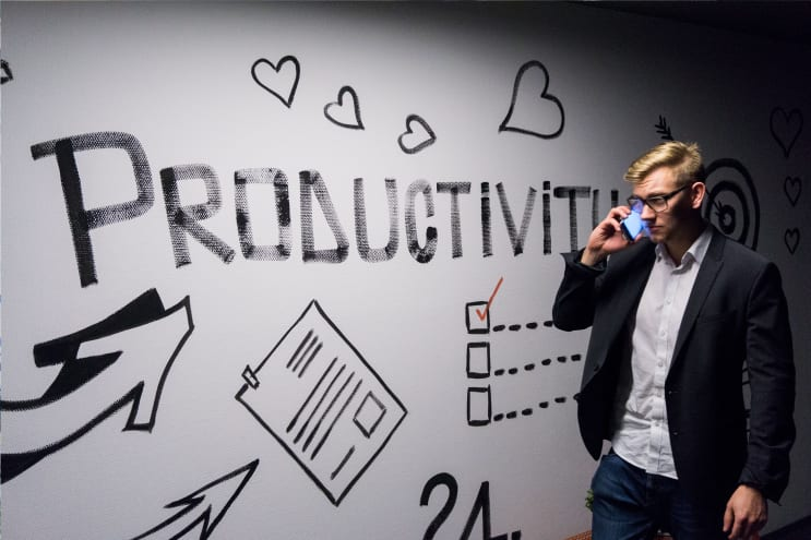 Phone is ringing and we need to stay productive!