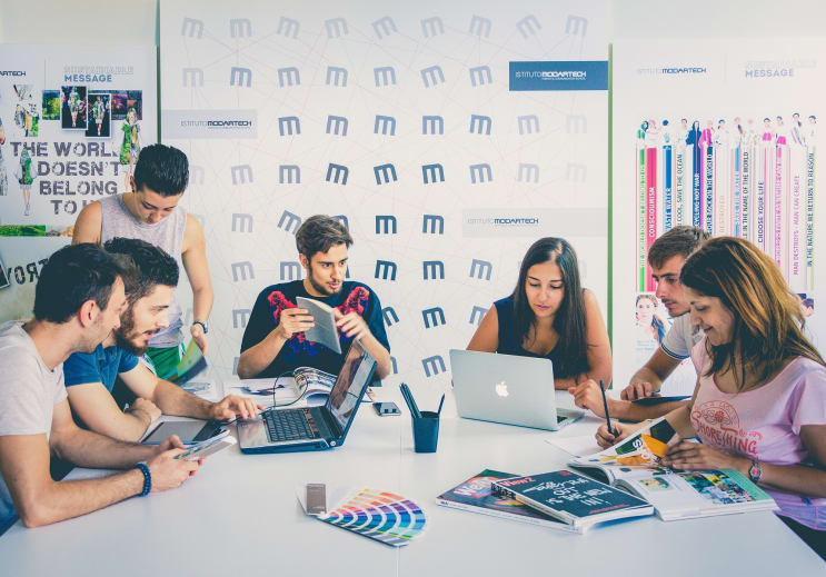 Communication Design thee year course at Istituto Modartech