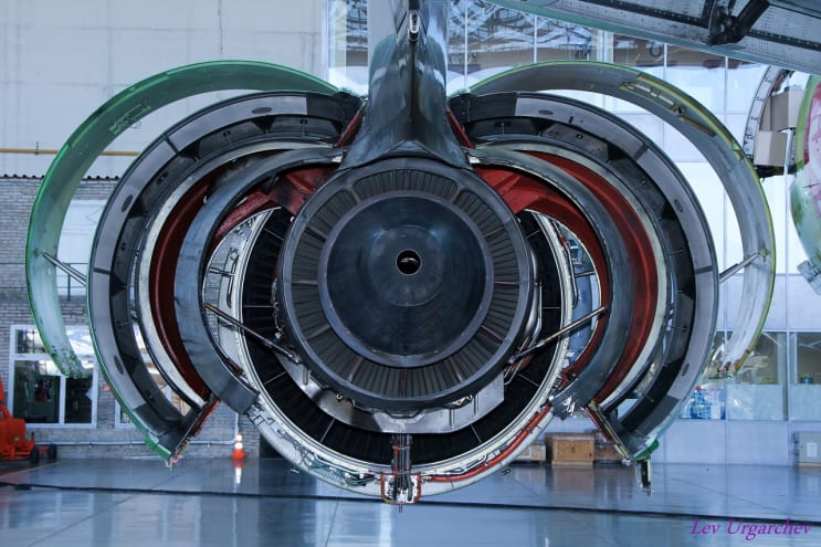 aircraft, wing, engine support