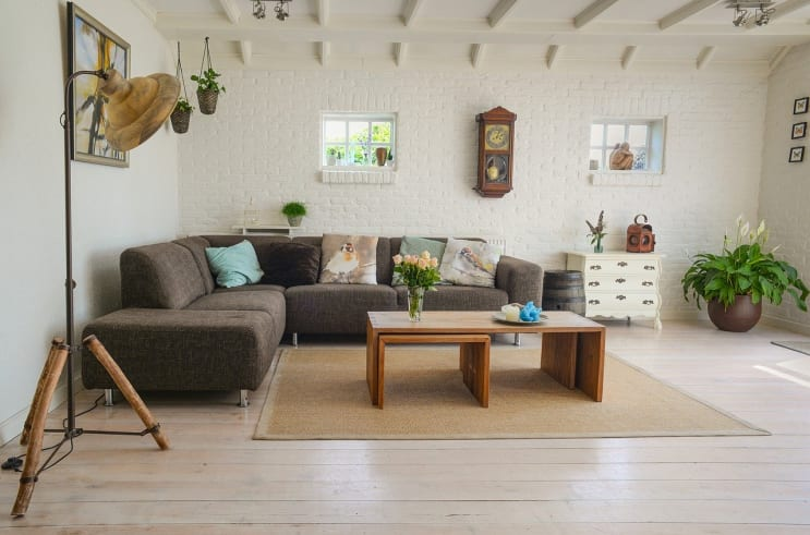 living room, couch, interior
