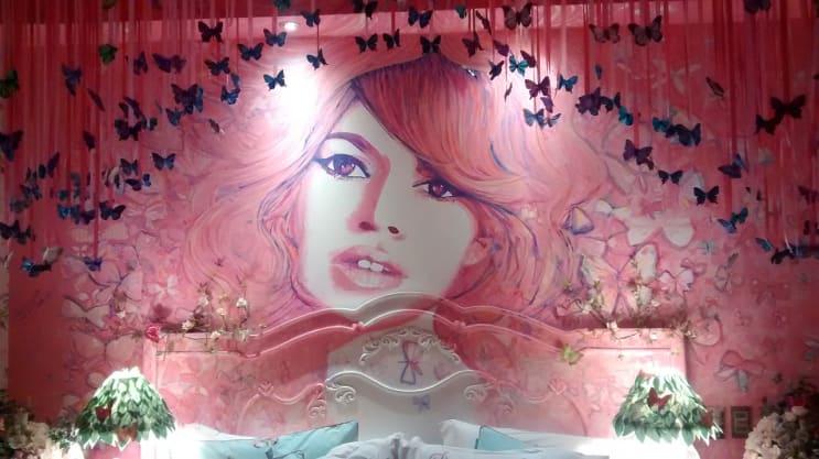 brigitte bardot, couple room, decoration