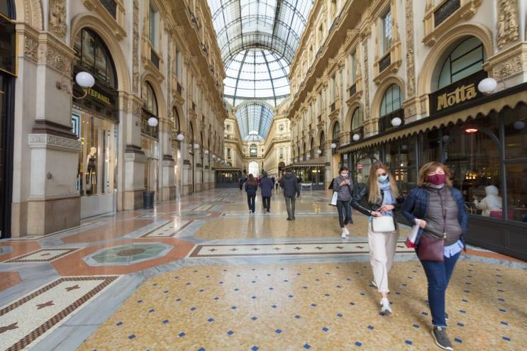 Milan, Italy, during the coronavirus