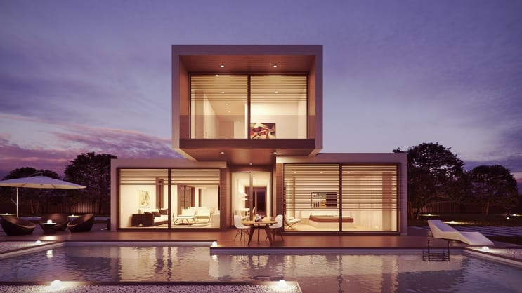 architecture, house, 3d
