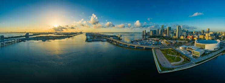 panorama, miami, florida