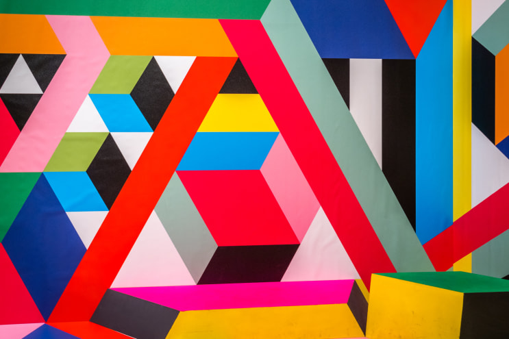 """EYE SEE YOU -  Perspective Playground, photokina 2018 """"Super Labyrinth"""" by Morag Myerscough and Luke Morgan"""