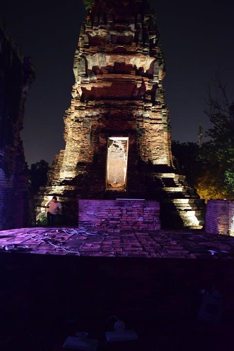 Lighting Design Workshop Buddhistische Tempelanlage in Ayutthaya Thailand @WINGS (3)