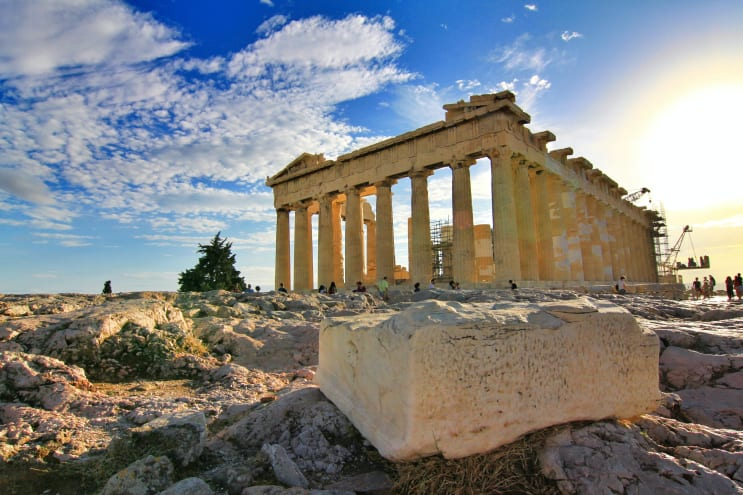 Parthenon Temple at Athen, Greece