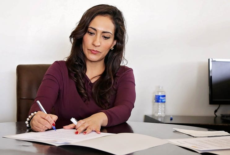 woman, women, office