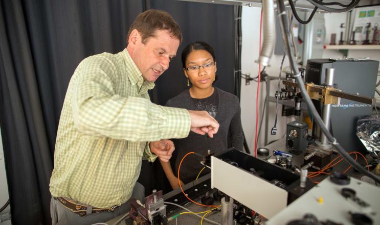 Lehigh University Physics Graduate Program Volkmar Dierolf