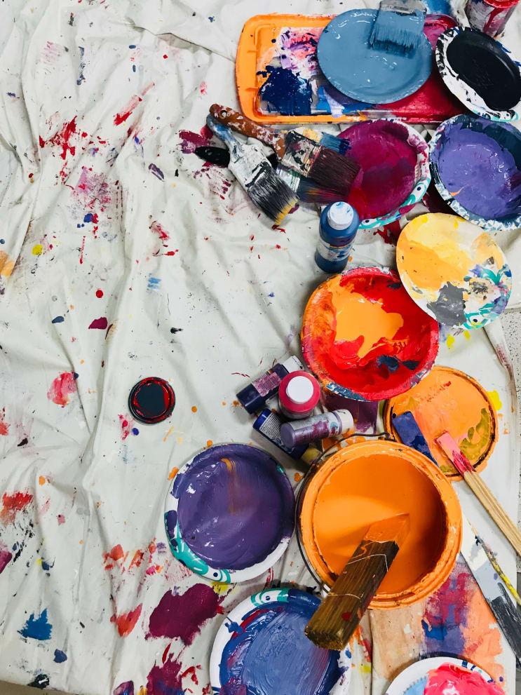 Mural mess