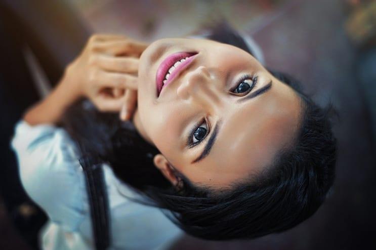face, girl, close-up