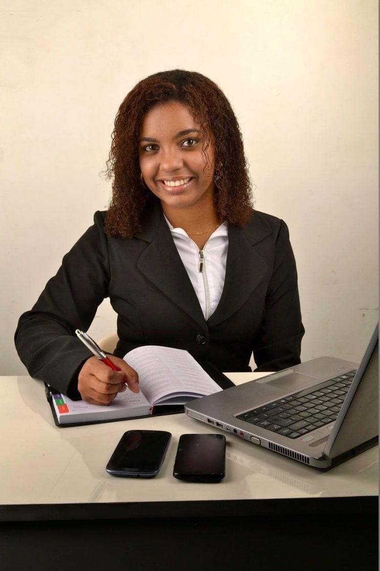 woman, black, businesswoman