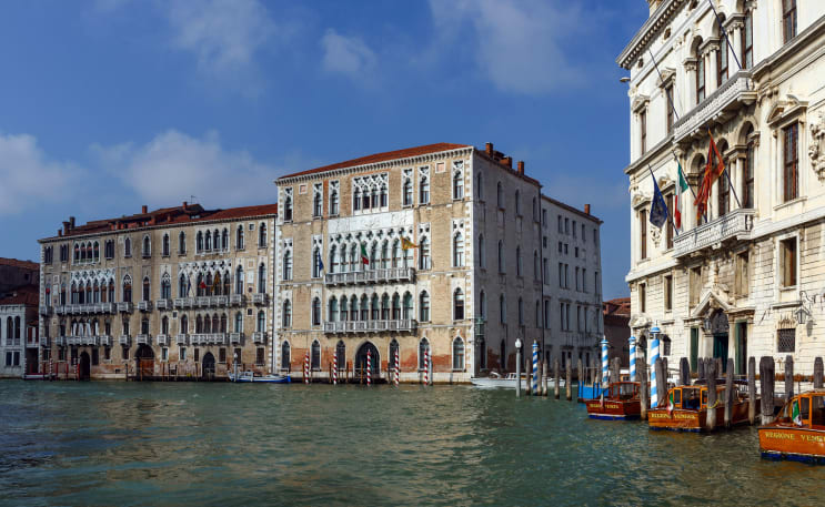 Ca' Foscari main building - grand Canal