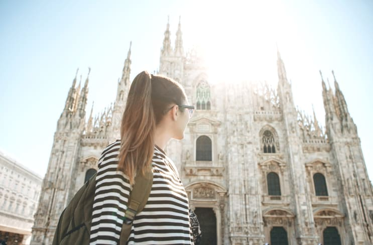 Student in Milan, Italy