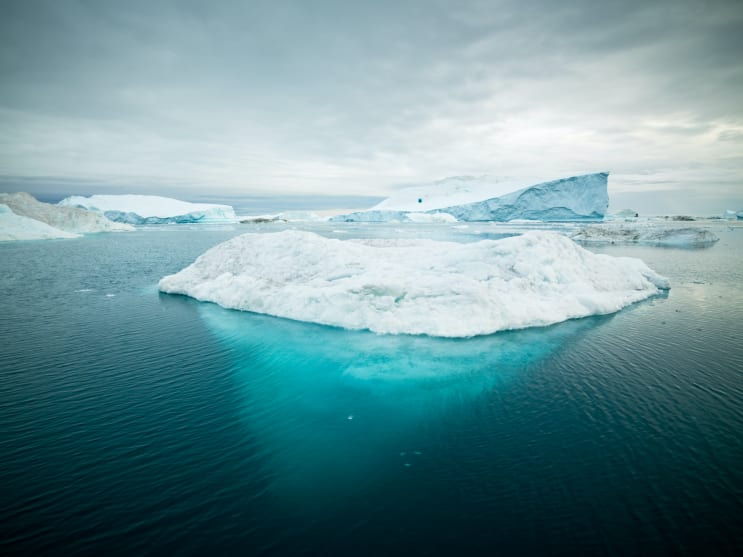 Arctic Icebergs in Ilulissat, Greenland :: Instagram: www.instagram.com/mlenny/ Copyright by Mlenny Photography :: Blog : www.mlenny.com :: istockphoto.com/portfolio/mlenny