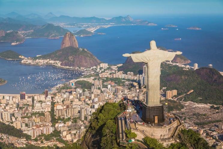Christ the Redeemer above Rio de Janeiro
