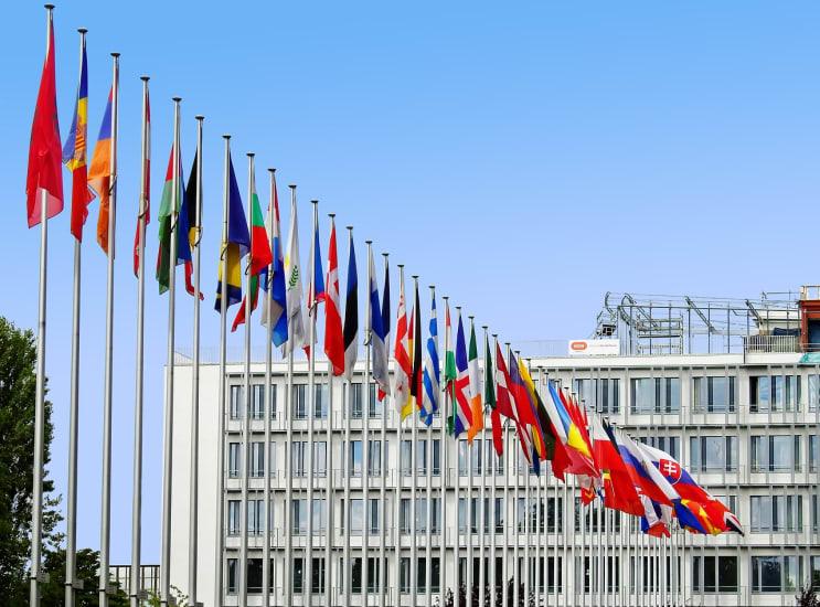 flags, europe, eu