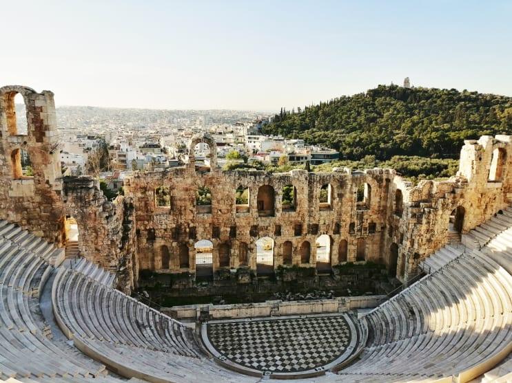 Roman Theatre in Athens