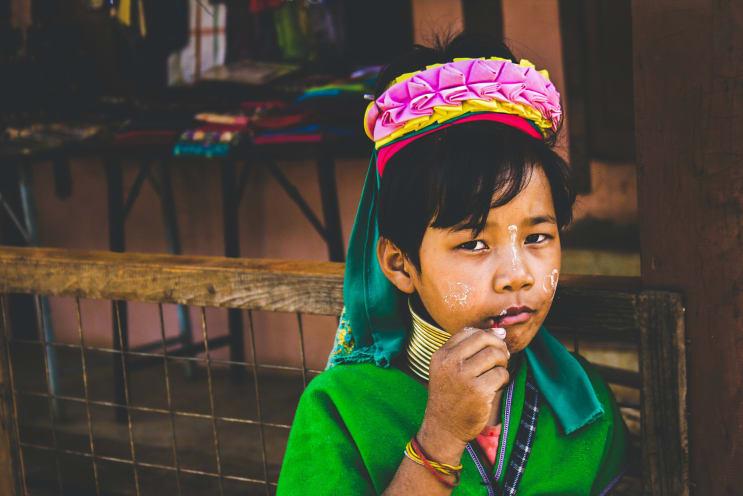 Kayan Child