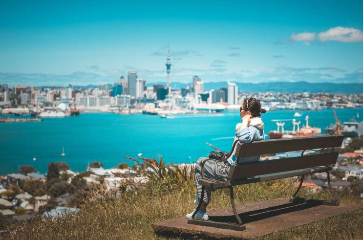 International student in Auckland, New Zealand